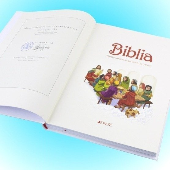 Biblia w pudełku drewaninym - Pamiątka I Komunii Św.- serce