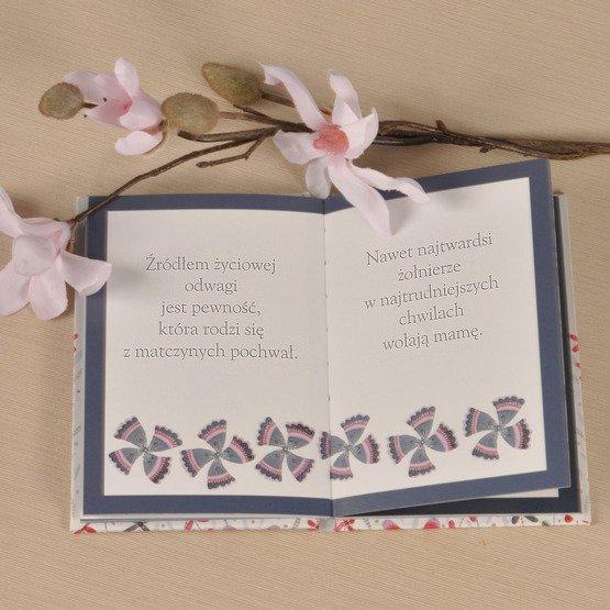 """Deska + książeczka """"Dla najlepszem mamy na świecie"""""""