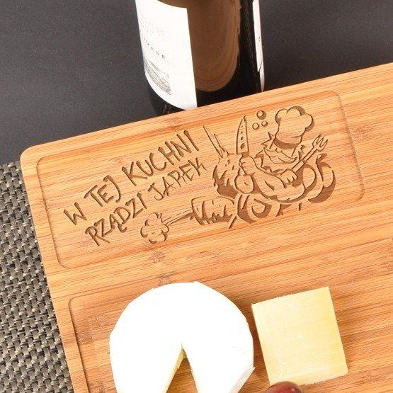 Deska kuchenna dla Panów- W tej kuchni rządzi...