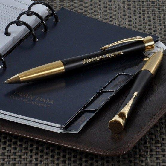 Długopis Parker URBAN + etui Puccini