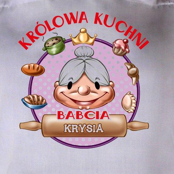 """Fartuszek """"Babcia- Królowa kuchni"""""""