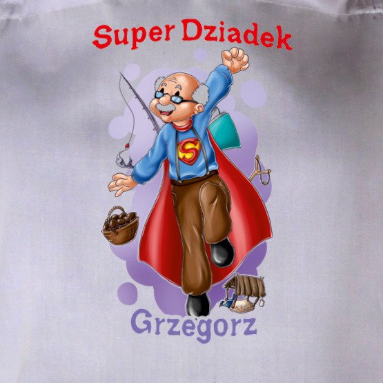 """Fartuszek """"Super Dziadek"""""""