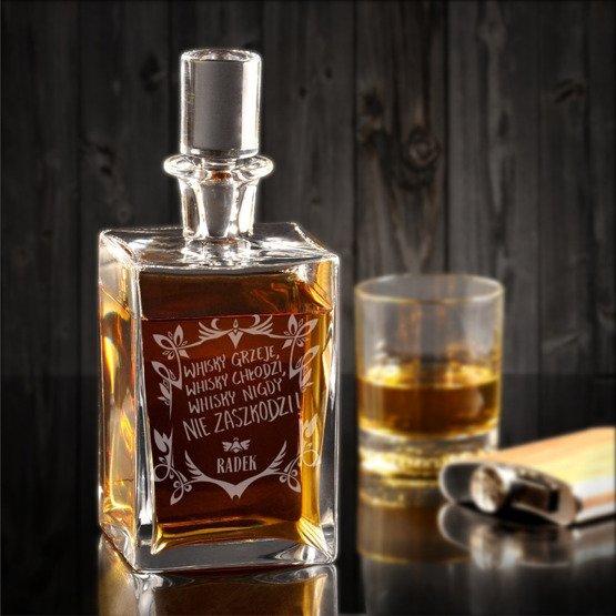 """Karafka do whisky """"...nigdy nie zaszkodzi"""""""