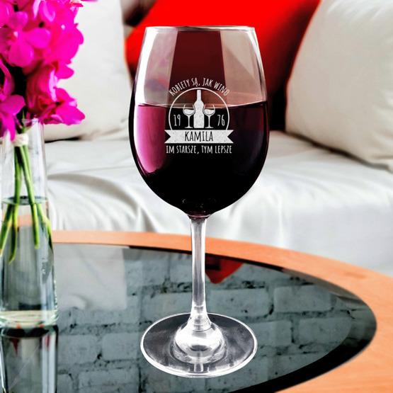Kieliszek do wina - Kobiety są jak wino