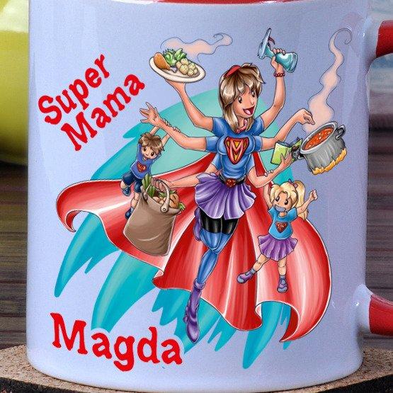 Kubek- Super Mama