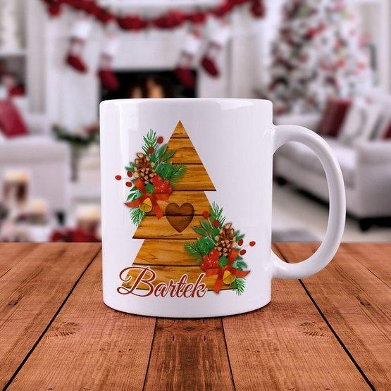 Kubek Świąteczny - Choinka