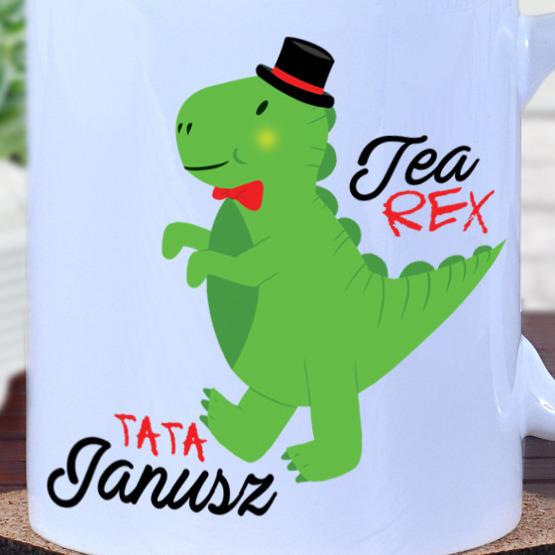 """Kubek- """"Tea Rex""""- tata"""