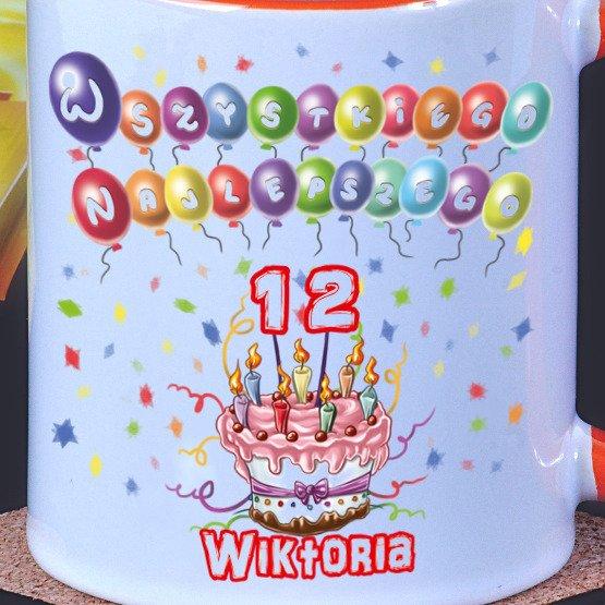 """Kubek """"Tort urodzinowy"""""""