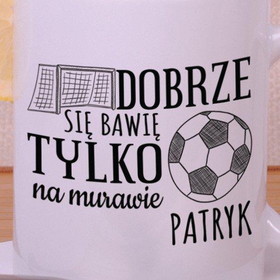 Kubek dla chłopca- piłkarza