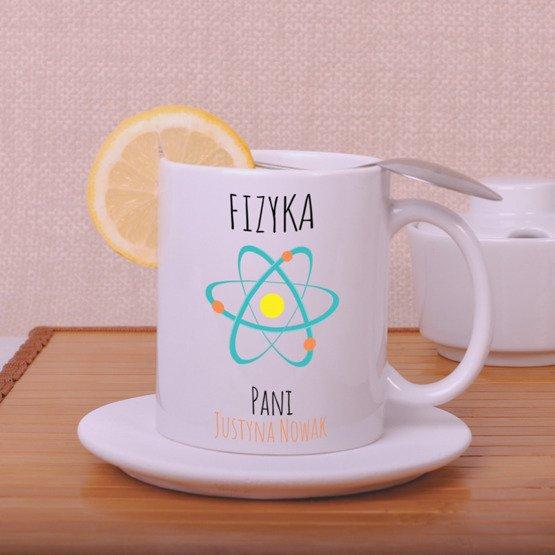 Kubek dla nauczyciela fizyki