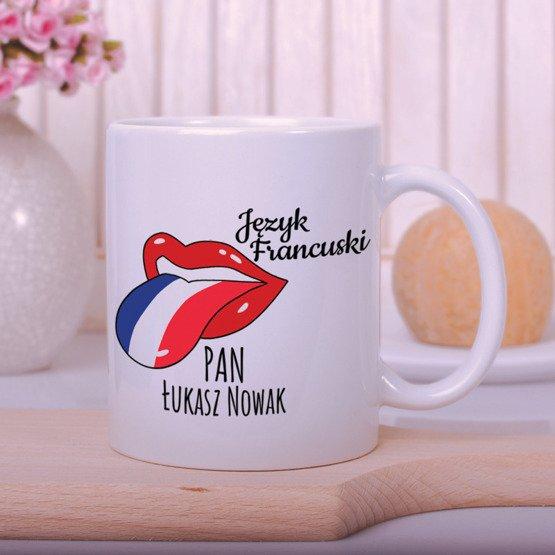 Kubek dla nauczyciela języka francuskiego
