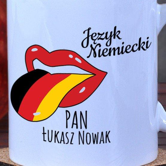 Kubek dla nauczyciela języka niemieckiego
