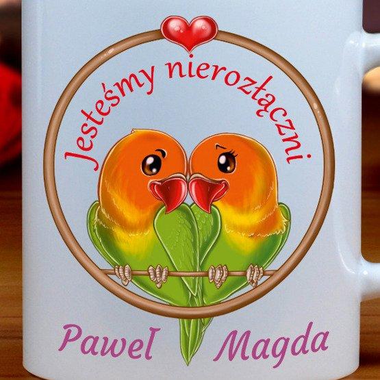 Kubek- papużki nierozłączki