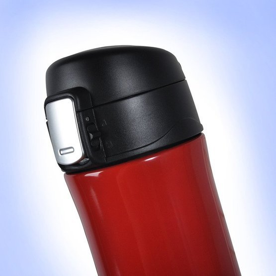 Kubek termiczny 450ml czerwony dla wędkarza