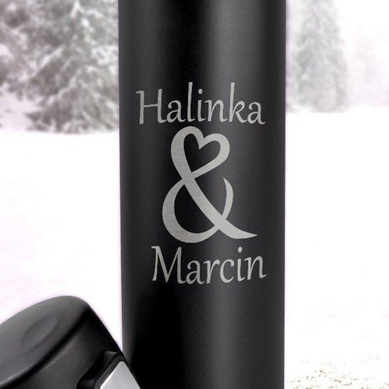 Kubek termiczny 450ml- & dla zakochanych