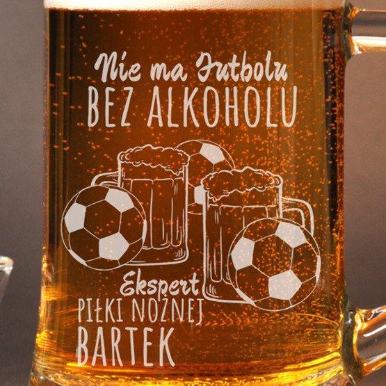 Kufel dla kibica - ekspert piłki nożnej