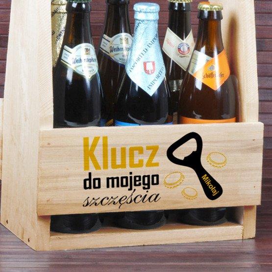 Nosidełko na piwo Klucz do mojego szczęścia