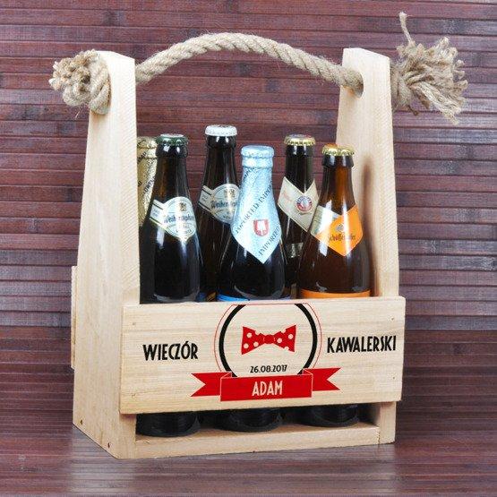 """Nosidełko na piwo """"Wieczór Kawalerski"""""""
