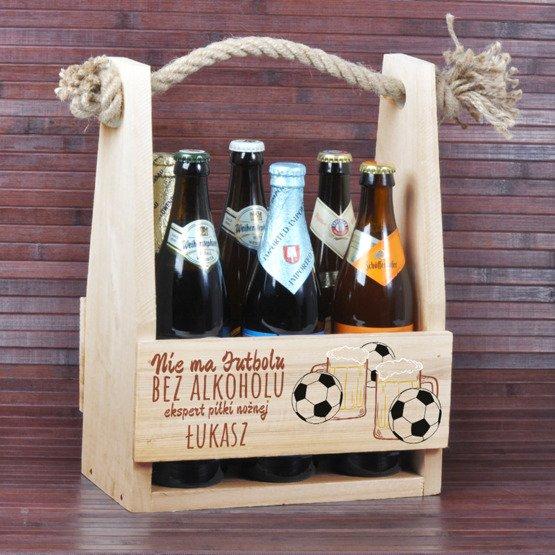 Nosidełko na piwo - dla kibica piłki nożnej