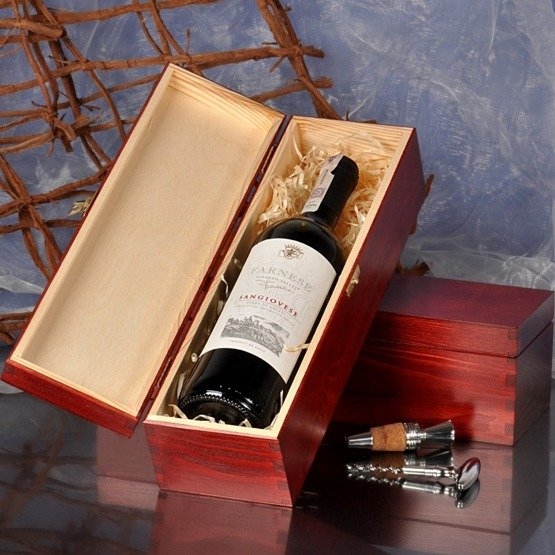 "Pudełko na wino ""Monogram + imię"""""