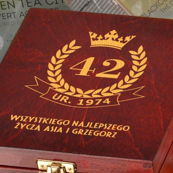Pudełko urodzinowe z herbatą Lipton
