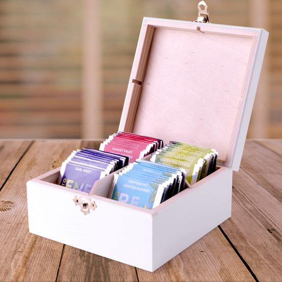 Pudełko z herbatą Lipton - dobrana para