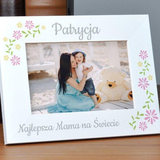 Ramka pozioma na zdjęcia - Najlepsza mama na świecie