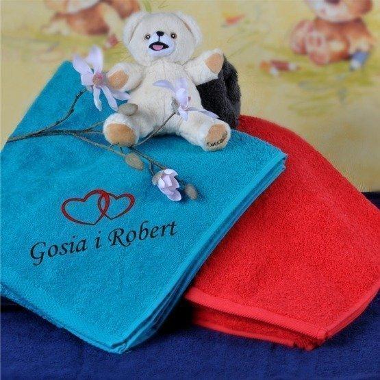 Ręcznik 50x90cm, dla zakochanych