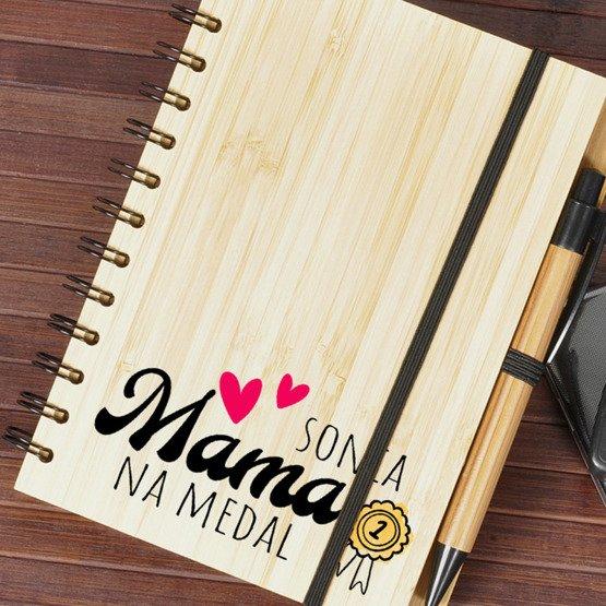 Super notes dla mamy na Dzień Matki - Mama na medal