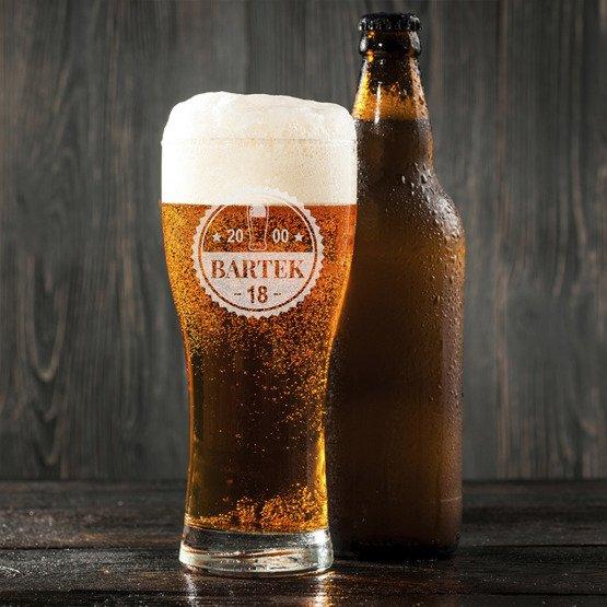 Szklanka do piwa - Kapsel