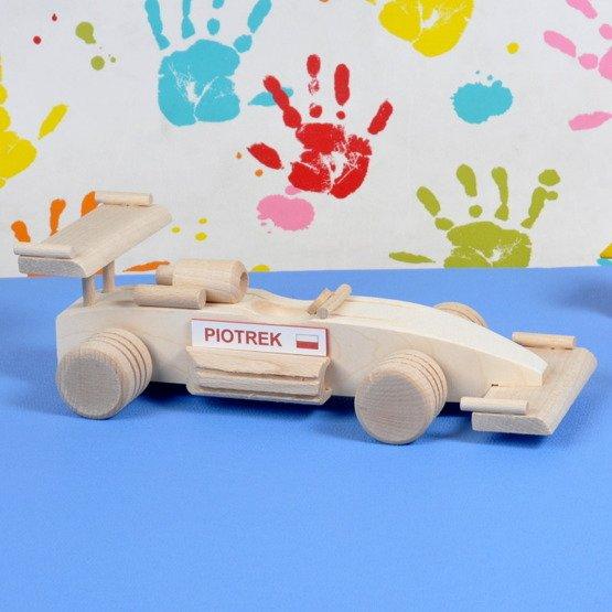 Zabawka drewniana- Formuła 1
