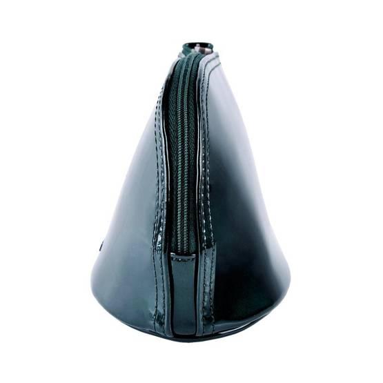 Zestaw prezentowy damski WITTCHEN IX - ciemnozielona kosmetyczka + beżowy szal