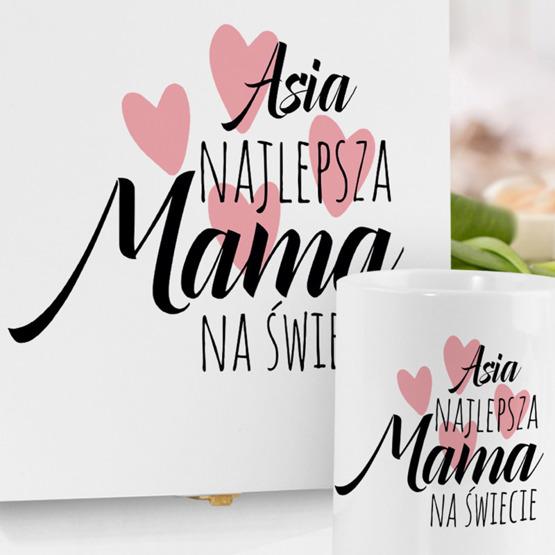 Zestaw prezentowy dla mamy - Najlepsza mama na świecie