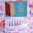 Kalendarz ścienny z nadrukiem- 12 rozdziałów