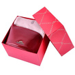 Zestaw prezentowy damski WITTCHEN VII - czerwona kosmetyczka + beżowy szal